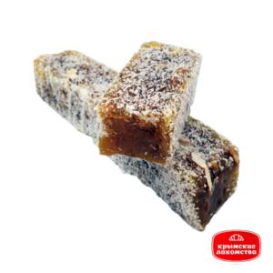 Рахат-лукум мини-брусок с грецким орехом и инжиром Айнур