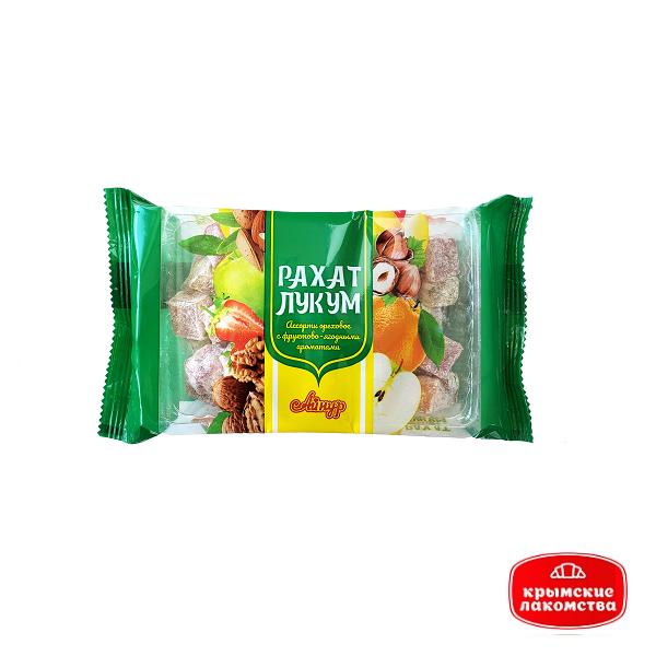 Рахат-лукум «Ассорти ореховое с фруктово-ягодными ароматами» 250 г