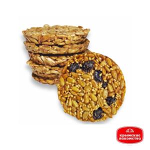 Печенье карамелизированное «Крымское» с семечками и изюмом 1 кг Айнур