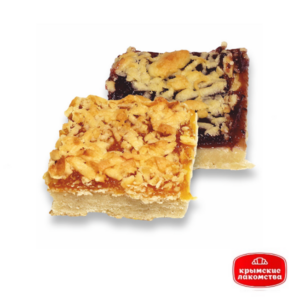 Печенье сдобное «Мозаика» с персиковым джемом 1,5 кг Айнур