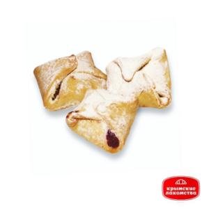 Печенье сдобное «Корзинка» с вишнёвым джемом 1 кг Айнур