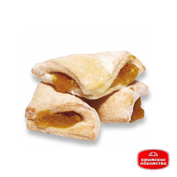 Печенье сдобное «Конвертик» с творогом и лимонным джемом 500 г Айнур