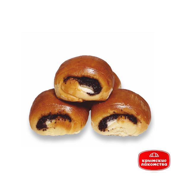 Печенье сдобное «Маковка» с маково-творожной начинкой 500 г Айнур