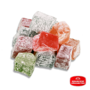 Рахат-лукум «Мини» фруктово-ягодный букет ароматов 700 г Крымские Лакомства