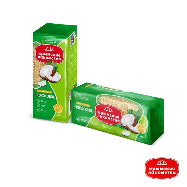 Печенье сахарное Кокосовое 430 г Айнур